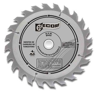 Disco de sierra circular