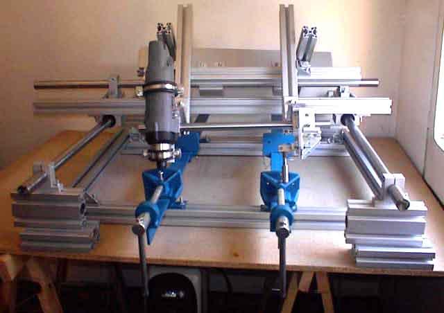 Fresadora universal de m quinas y herramientas - Fresadora de madera ...