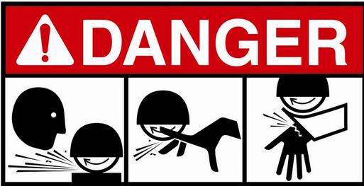 Seguridad en uso de Amoladora