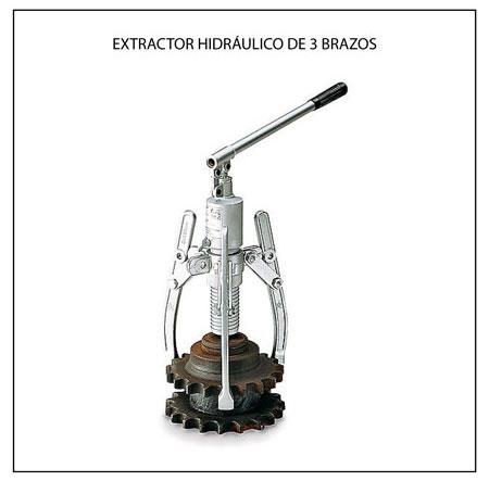 Extractor hidráulico
