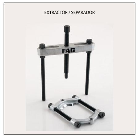 Extractor-separador