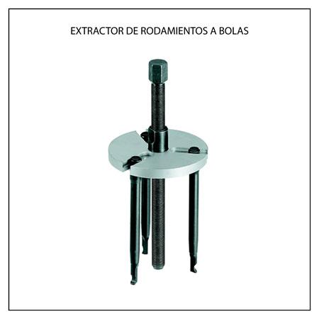 Extractor de rodamientos a bolas