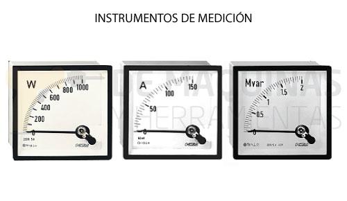 Simbologa de los Instrumentos Analgicos para Mediciones