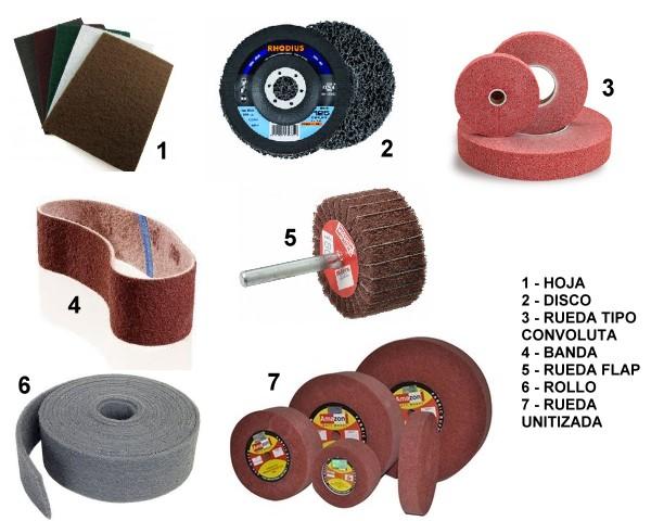¿Qué son los Abrasivos Textiles no Tejidos?