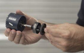 ¿Cómo usar una sierra copa o sierra corona?