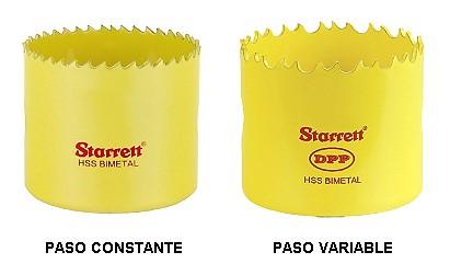 Sierras Copa paso constante y paso variable