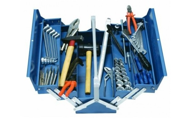 Caja de herramientas tipo Cantilever