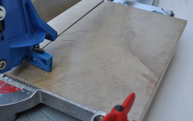 ¿Cómo cortar porcelanato?