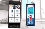 Video Medidor de Distancia Láser Bosch en el Celular