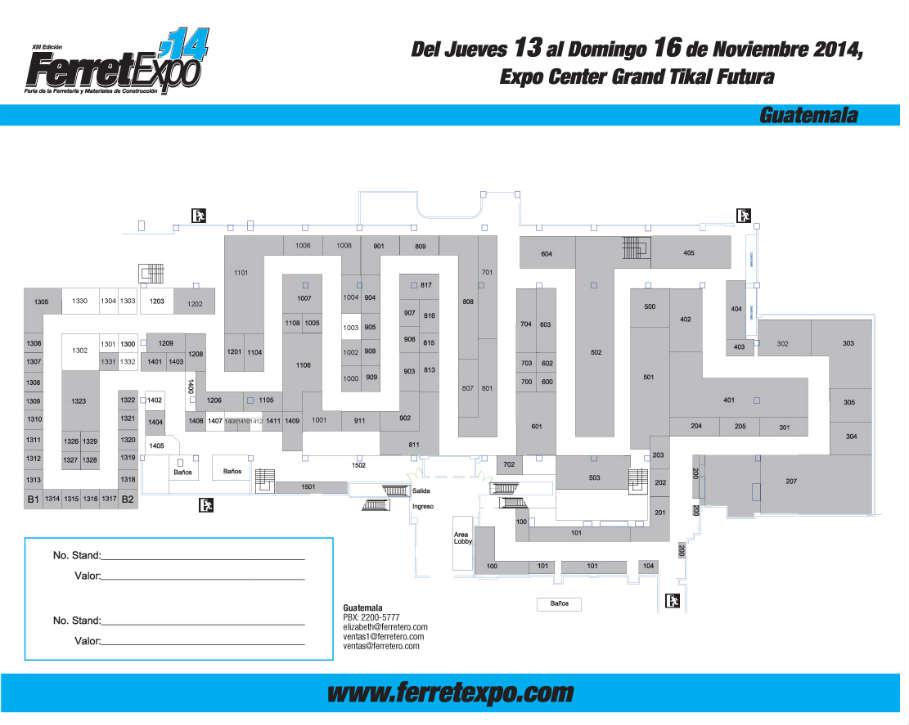 Ferretexpo 2014 - Guatemala