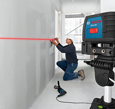 Uso de un Nivel Laser de Lineas