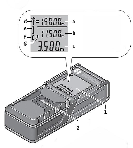 GLM 30 - Medidor de Distancia Laser