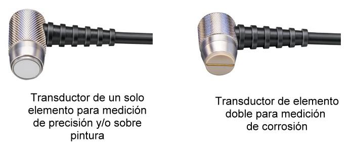 Tipos de Medidores de Espesor por Ultrasonido - Transductores