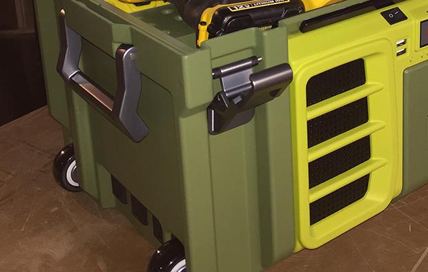 Coolbox caja de herramientas de m quinas y herramientas - Caja herramientas con ruedas ...