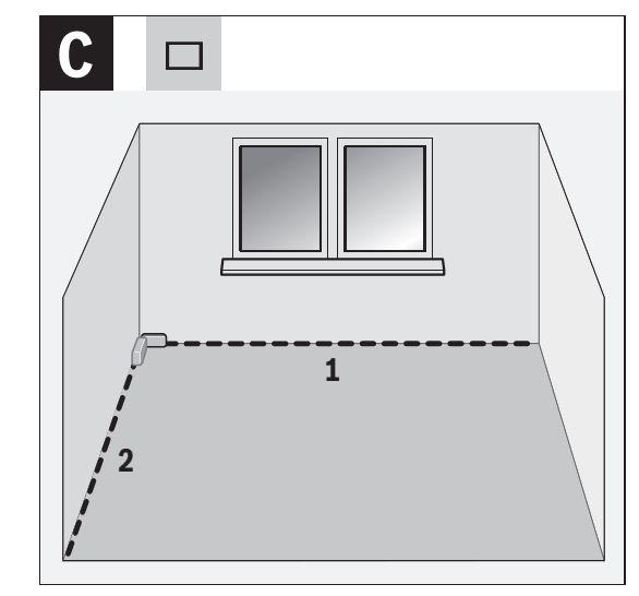 Medición de área y superficie con el GLM 40 Bosch