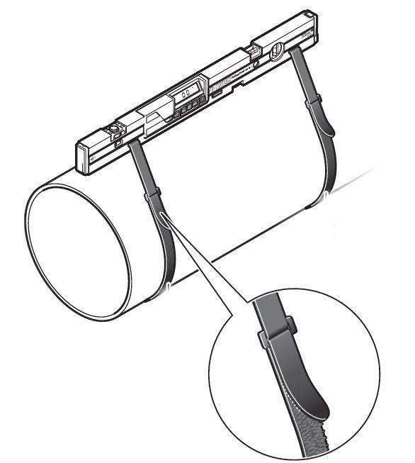 Inclinómetro Digital - ¿Cómo sujetar?