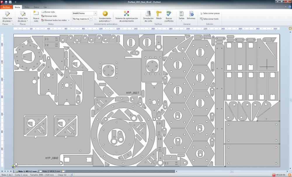Corte por Plasma Mecanizado - Software