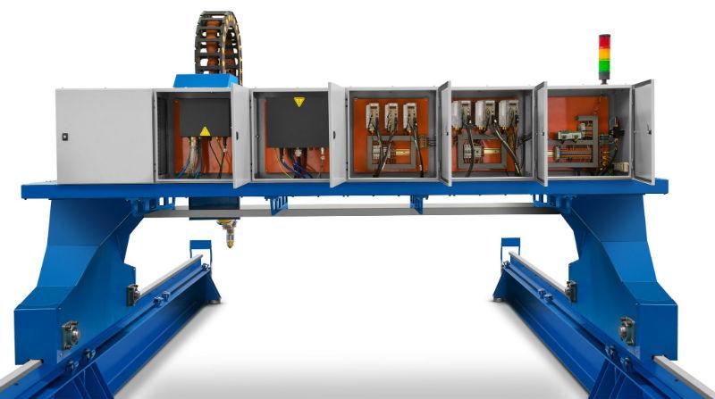Máquinas de corte por plasma mecanizado - Gabinete