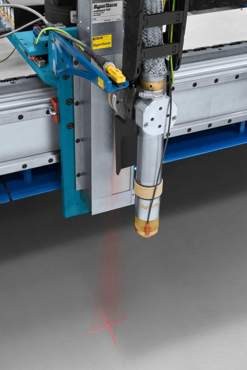 Máquinas de corte por plasma mecanizado - Laser
