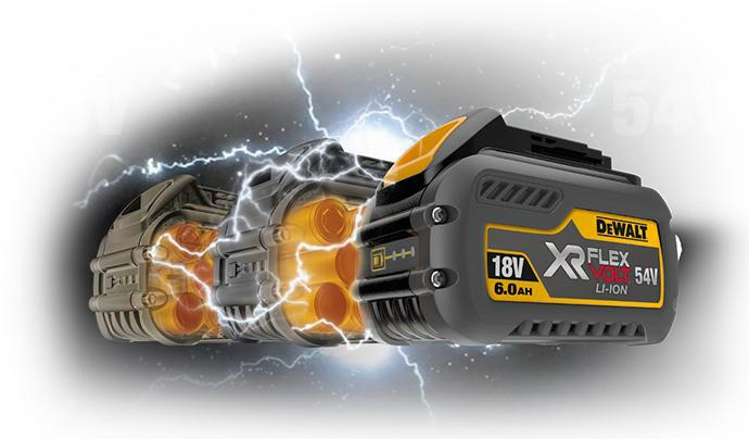 Bateria-XR FLEXVOLT-DeWalt