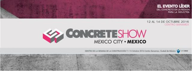 Concret Show México City 2016