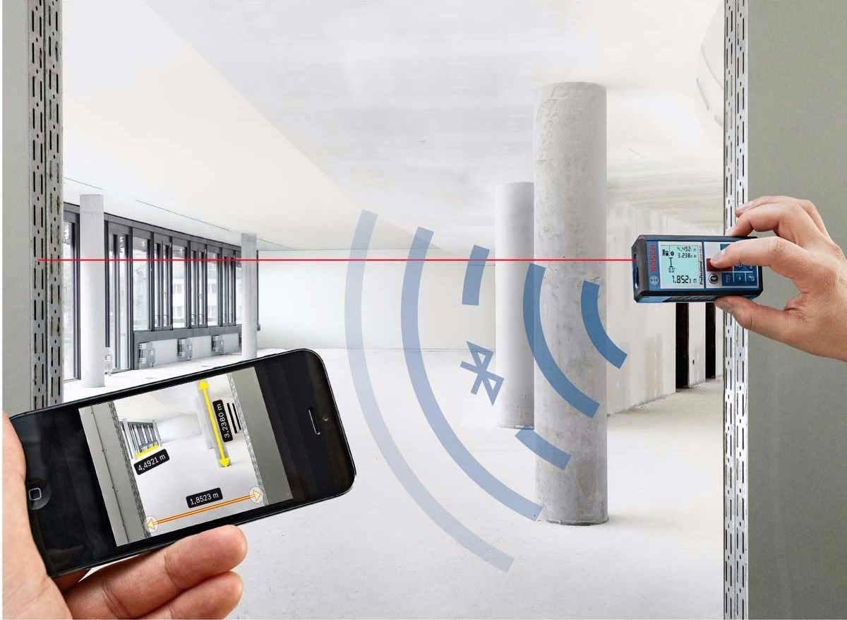 Medidor de distancia laser de m quinas y herramientas for Medidor de distancia laser