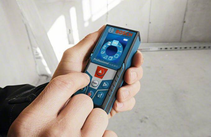 Medidor-Distancia-Laser-GLM-50C-Uso