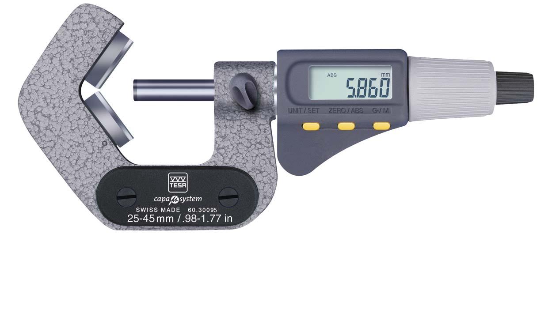 Micrometro tres contactos