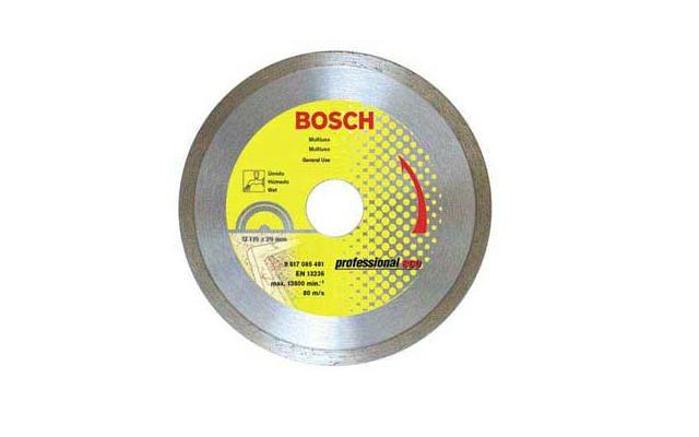 Disco Diamantado - Continuo Bosch