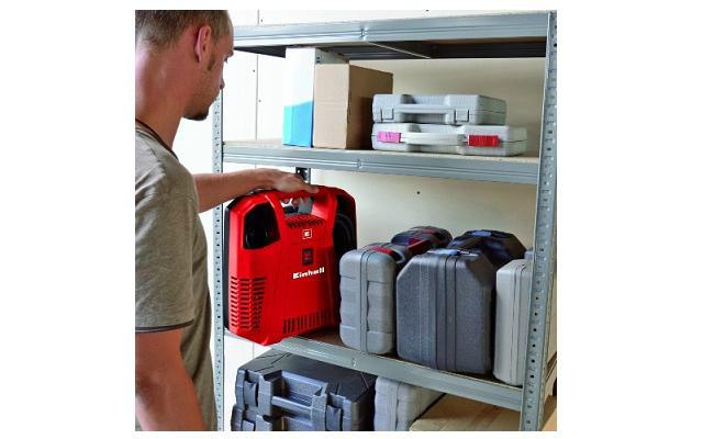 Compresor para inflar compacto y portable