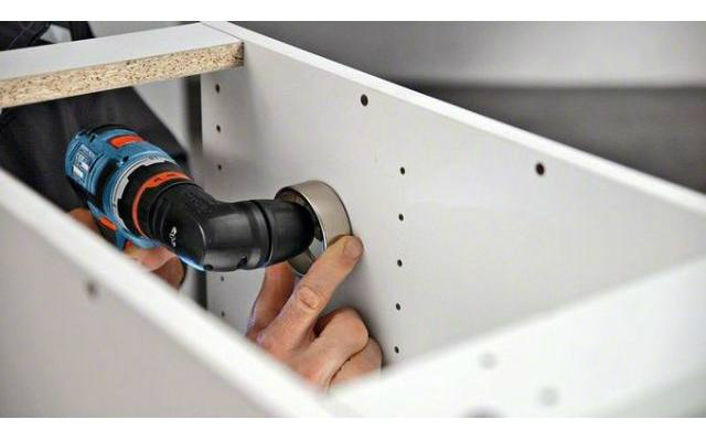 Flexiclick 5 en 1 de Bosch - Trabajo en espacio reducido