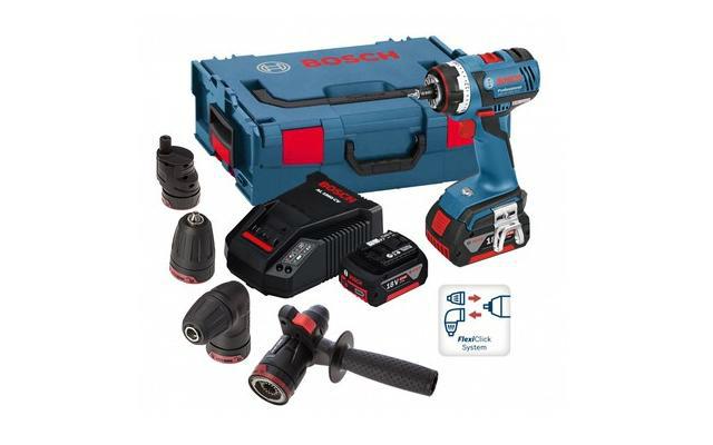Flexiclick 5 en 1 de Bosch - Componentes