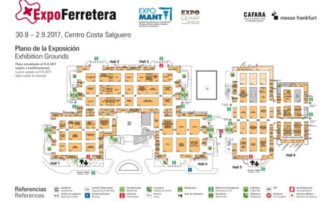 ExpoFerretera 2017 Buenos Aires - Plano
