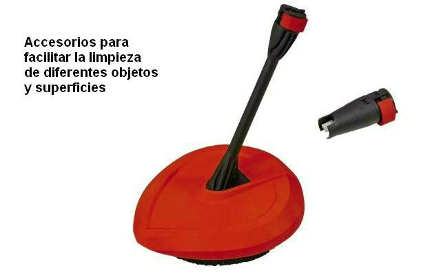Hidrolavadora - accesorios