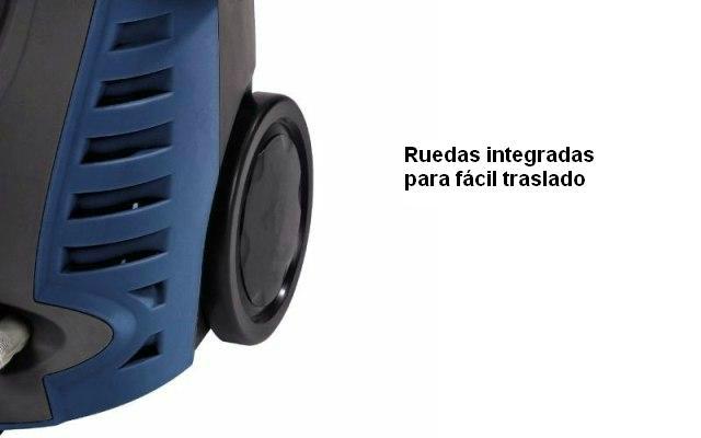 Hidrolavadora con ruedas