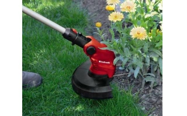 Bordeadora Eléctrica - Redefinición de borde en huerto de flores