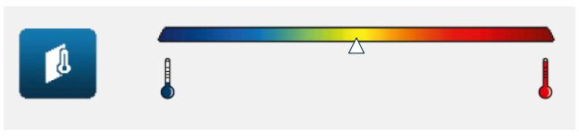 Cámara termográfica - Escala de resultados
