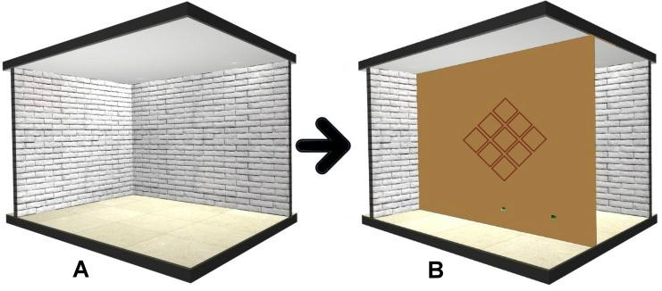 Construcción en seco - división de salas