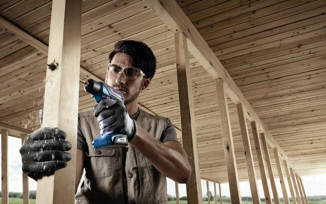 GSR 1000 SMART Bosch - Taladrar sobre madera