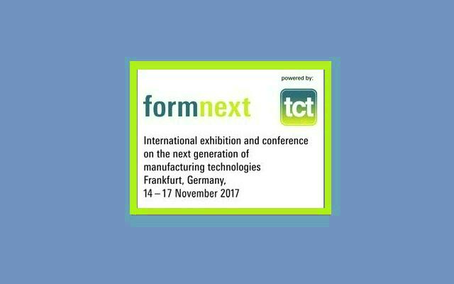 Formnext 2017 - Exhibición internacional de la próxima generación de tecnología de manufacturados