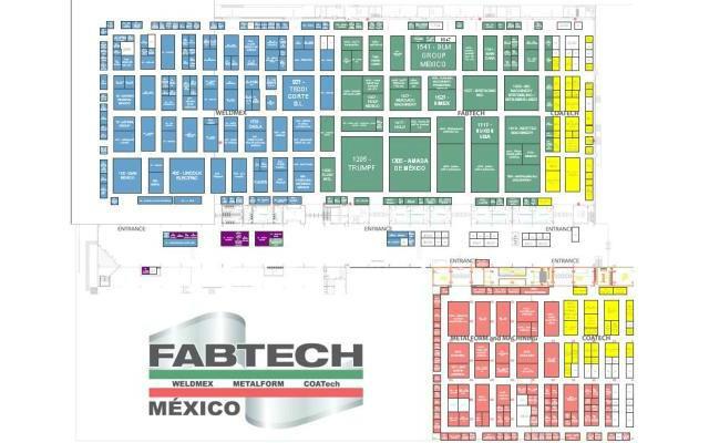 Fabtech 2017 Mexico - Plano