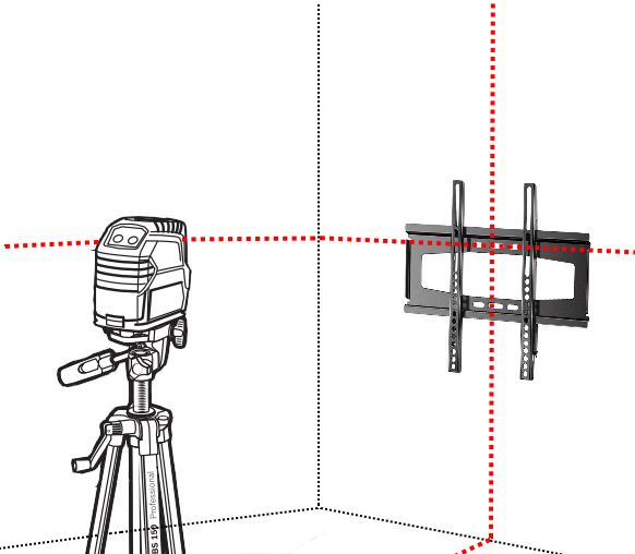 Colocaci n soportes para tv de m quinas y herramientas - Altura para colgar tv ...