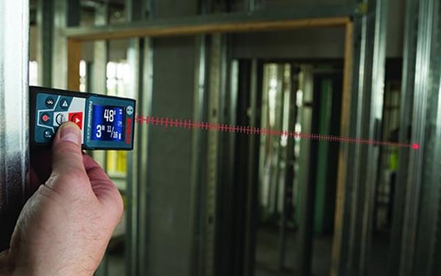 Aplicación en uso - Medidor de distancia láser