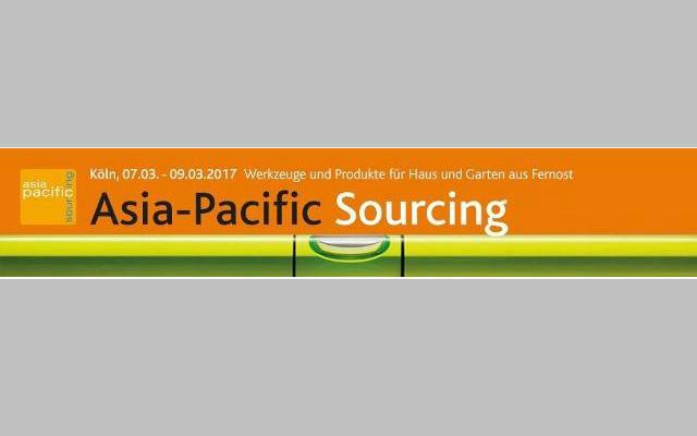 Asia-Pacific Sourcing 2017 - Colonia, Alemania - Feria del sector Hogar y Jardín