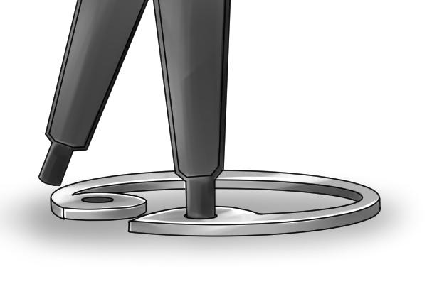 Alicate - diferencia entre standard y con anillos para retención