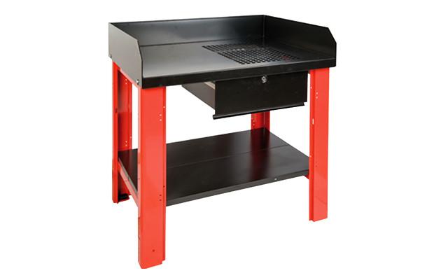 Mesa para soldadura de m quinas y herramientas - Mesa de trabajo metalica ...