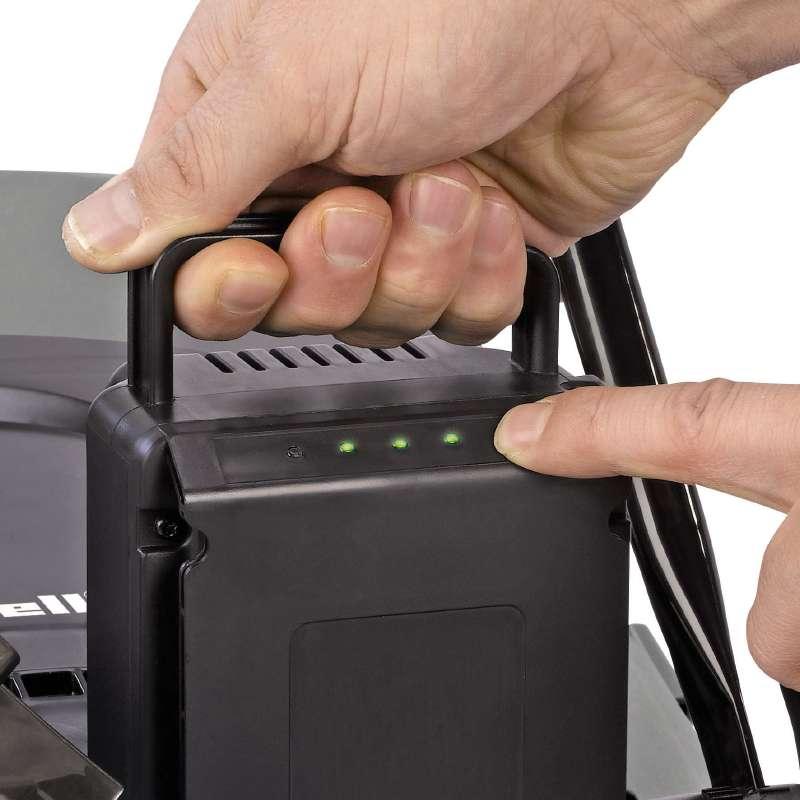 Indicador de bateria - Cortadora de césped inalámbrica