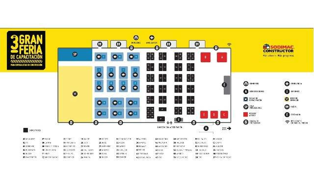 3er. Gran Feria de la Capacitación - Plano