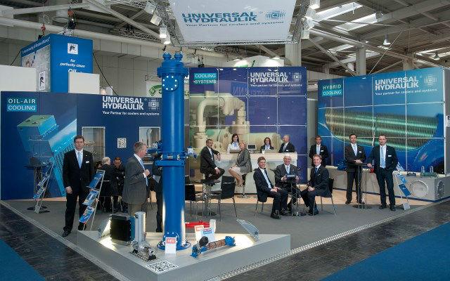 Hannover Messe edición anterior - Área de exhibición