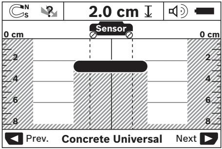 Detección de objetos metálicos - escáner de pared